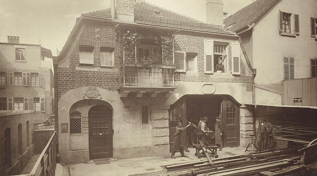 Meilestein 1866